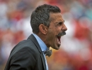 Michael Mangum  |  Special to the Tribune  Colorado Rapids head coach Pablo Mastroeni yells to his team during their match against Real Salt Lake at Rio Tinto Stadium on Sunday, June 7, 2015.