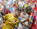 Michael Mangum  |  Special to the Tribune  Colorado Rapids forward Luis Solignac (21) and Real Salt Lake defender Aaron Maund (21) fly up for a header during the first half of their match at Rio Tinto Stadium on Sunday, June 7, 2015.