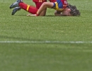 Michael Mangum  |  Special to the Tribune  Real Salt Lake midfielder John Stertzer (27) lays on the pitch after a foul against the Colorado Rapids during the first half of their match at Rio Tinto Stadium on Sunday, June 7, 2015.