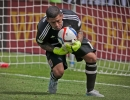 Michael Mangum  |  Special to the Tribune  Real Salt Lake goalkeeper Nick Rimando (18) makes a save against the Colorado Rapids during the first half of their match at Rio Tinto Stadium on Sunday, June 7, 2015.