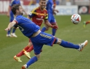 Colorado Rapids defender Drew Moor (3) clears the ball out of the area during their match against Real Salt Lake at Rio Tinto Stadium in Sandy, UT on Saturday, May 17, 2014. Real Salt Lake defeated Colorado 2-1.