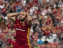 Michael Mangum  |  Special to the Tribune  Real Salt Lake forward Yura Movsisyan reacts in despair following a missed chance during their U.S. Open Cup match against the Seattle Sounders at Rio Tinto Stadium in Sandy, UT on Tuesday, June 28th, 2016.