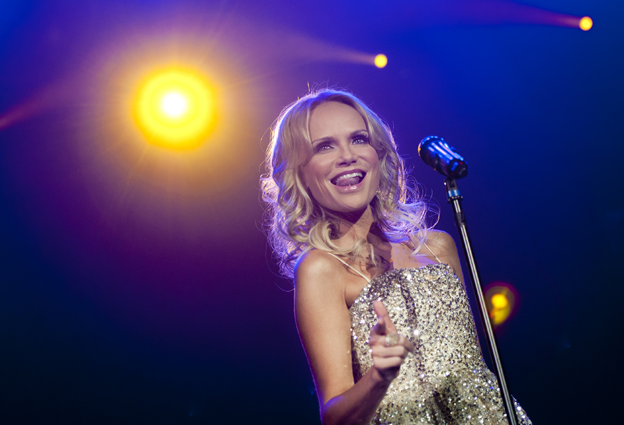 Michael Mangum  |  Special to the Tribune  |  Kristin Chenoweth performs at a sold-out New Year's Eve show at The Eccles Center in Park City, UT on Monday, December 31, 2012.